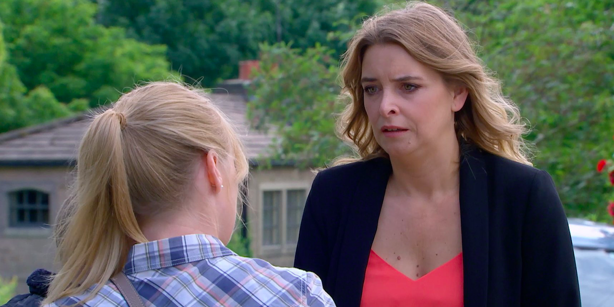 Emmerdale fans gutted as Vanessa delivers 'brutal' blow to Charity in heartbreaking twist