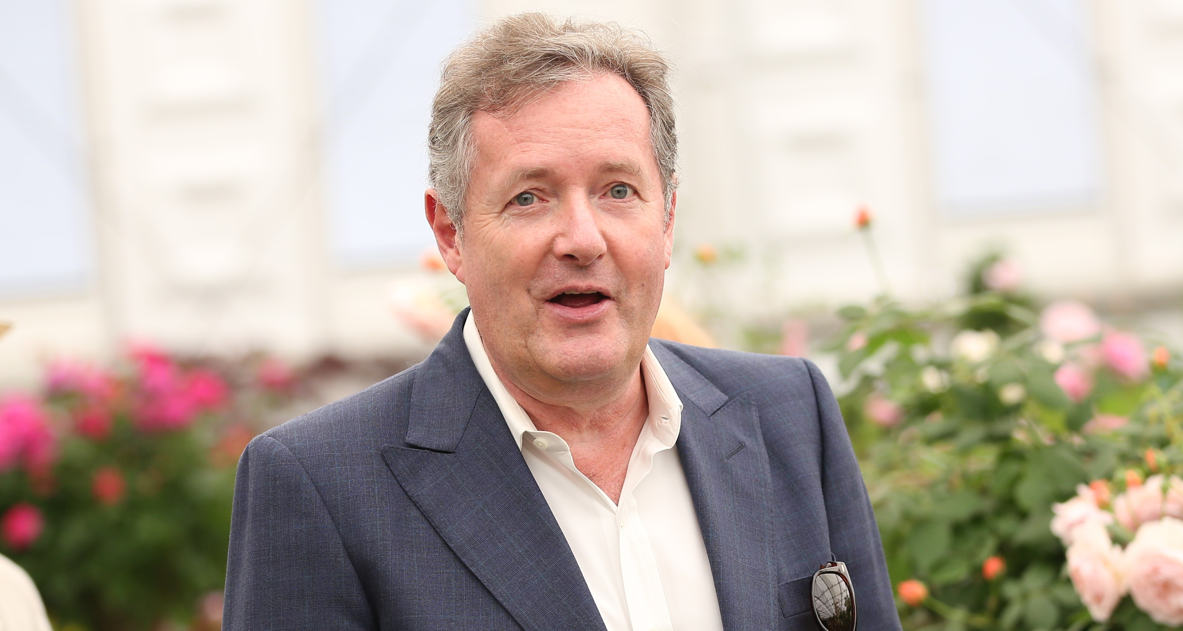 Piers Morgan mocks claims he's lost two stone