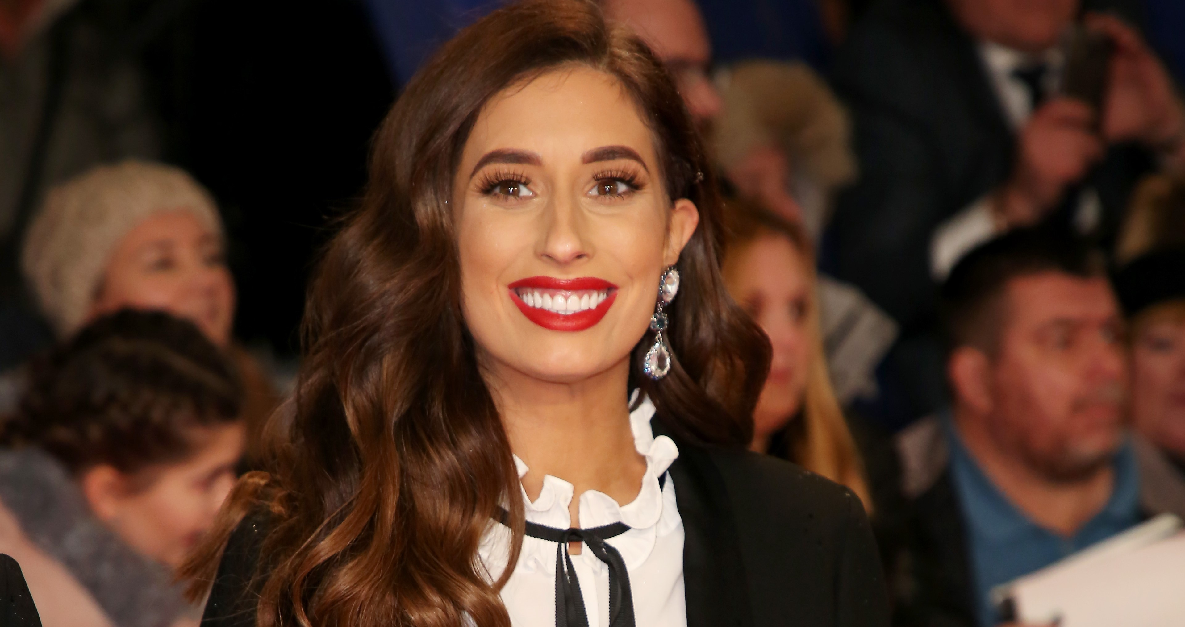 Stacey Solomon poses in bikini months after giving birth