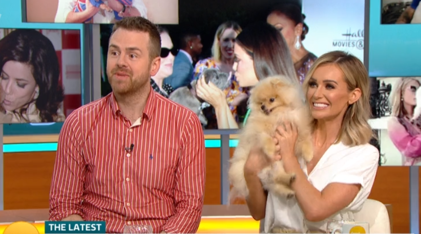 GMB viewers divided over kissing dogs on the mouth debate