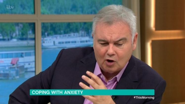 Eamon Holmes fights back tears as Ruth Langsford 'leaves' This Morning