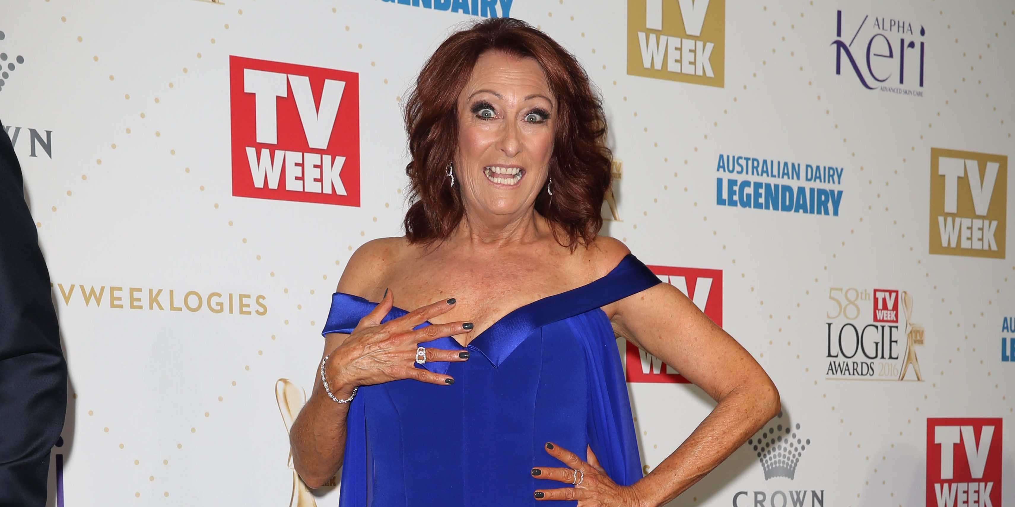 Home and Away's Lynne McGranger reveals she gets X-rated messages!