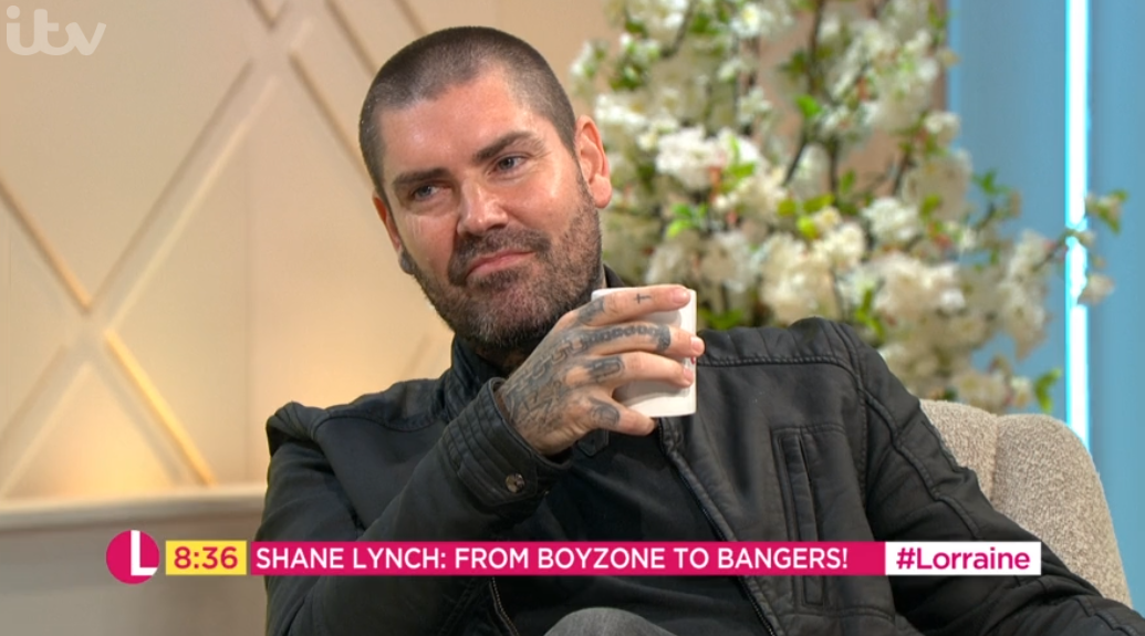Lorraine fans stunned over interview with 'hungover' Boyzone star Shane Lynch