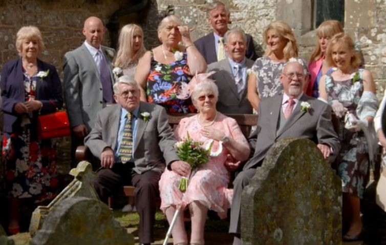 ITV viewers in tears as 81-year-old bride is given away by long lost brother