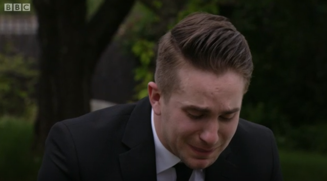 EastEnders viewers heartbroken for Callum as he reveals he was in love with dead army friend