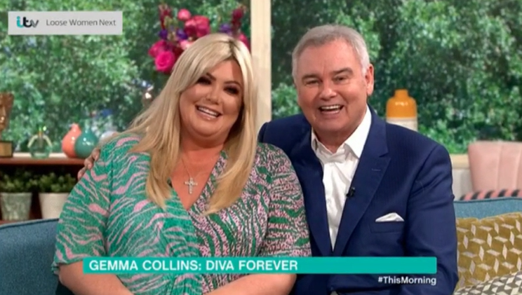 Eamonn Holmes replaces Ruth Langsford with Gemma Collins on This Morning