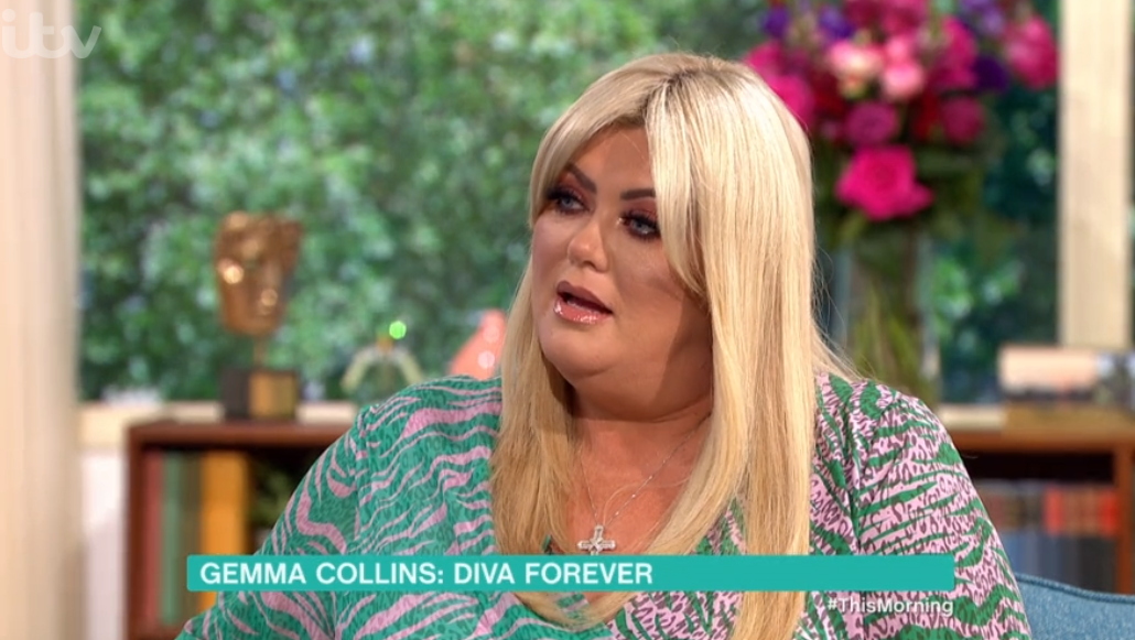 Gemma Collins admits she felt 'embarrassed' about her life