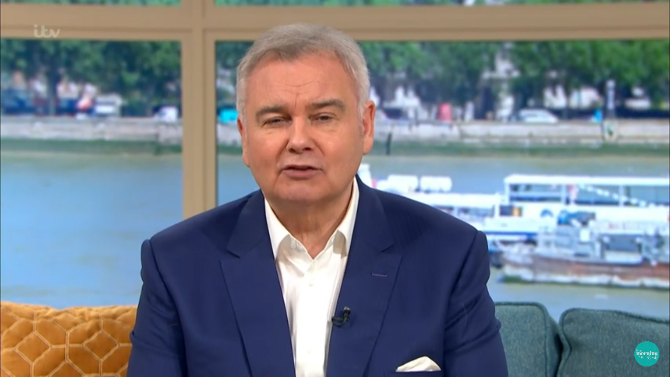 Christine Lampard shuts down Eamonn Holmes over jibe about her hubby Frank