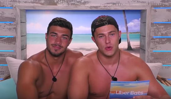 Love Island's Tommy and Curtis reportedly SNOGGED in a scene deleted from the show