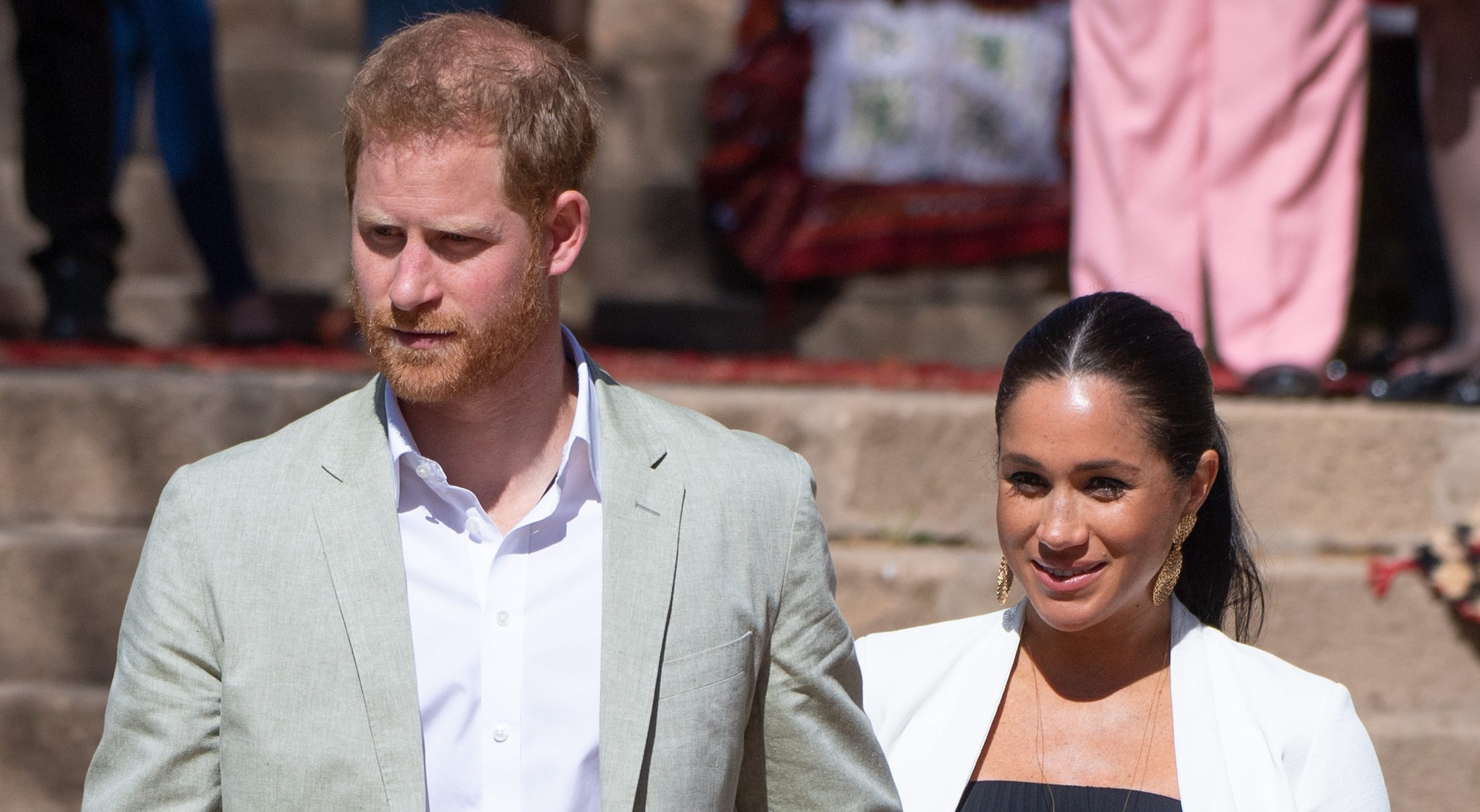 Suits in nod to the Duchess of Sussex's 'really good' new life