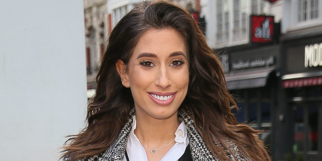 Stacey Solomon shares an adorable image of her three sons on holiday