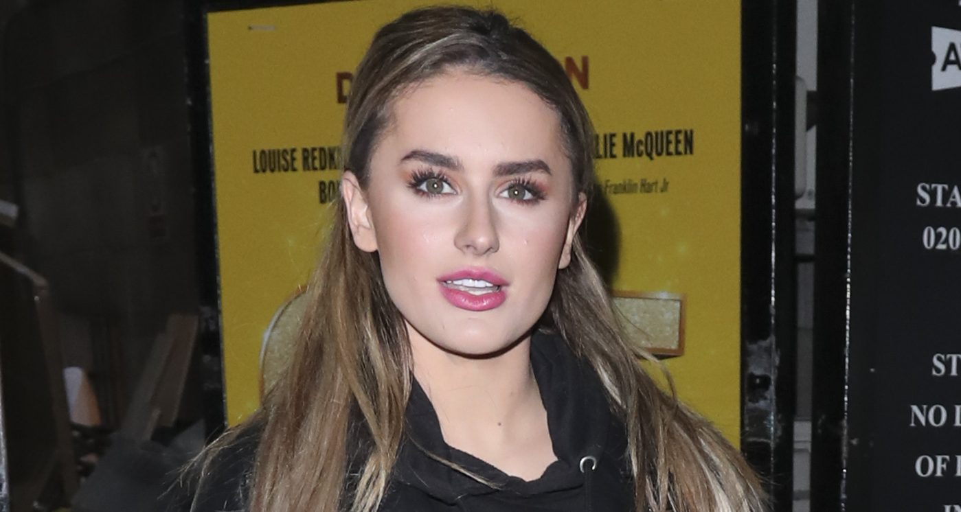 Love Island's Amber Davies shows off 'new look' after swapping her brunette locks for blonde waves