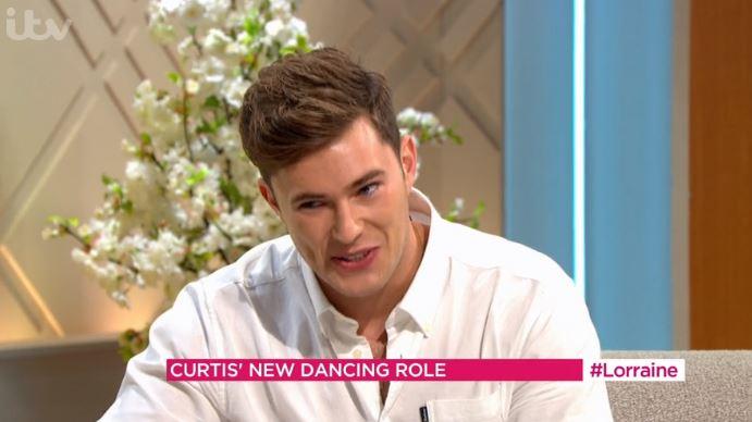 Curtis Pritchard on Lorraine