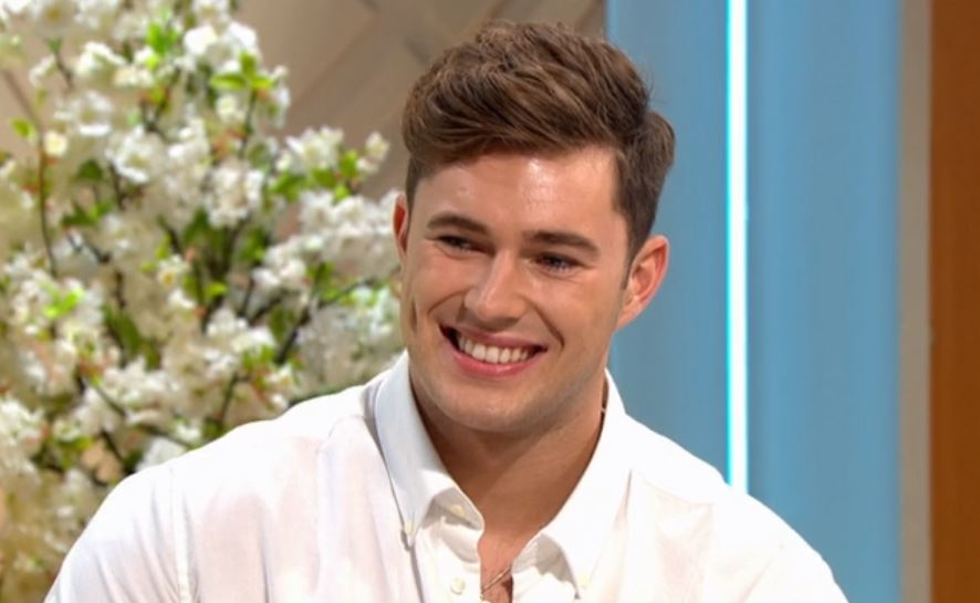 ITV viewers left cringing as Love Island's Curtis Pritchard makes presenting debut on Lorraine