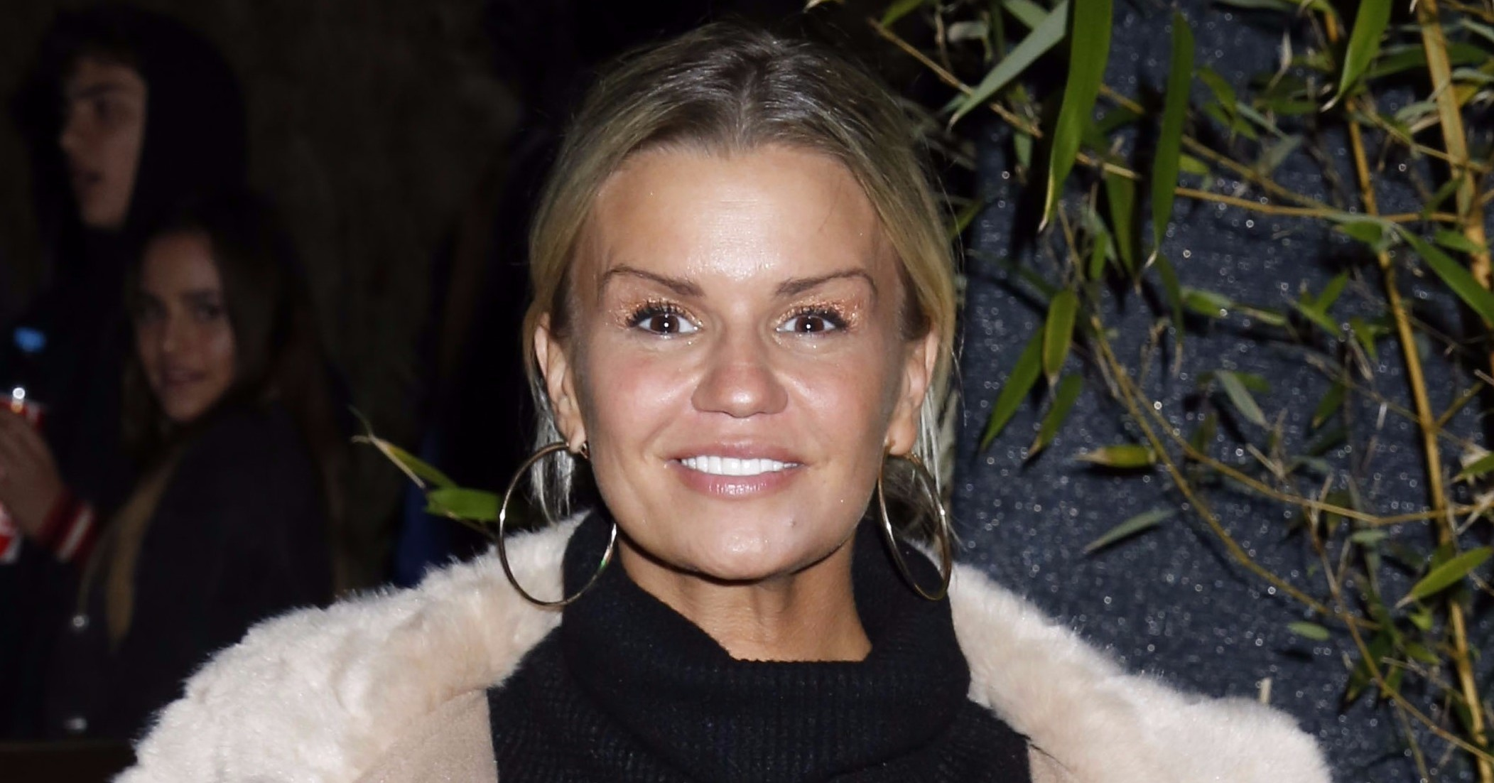 Kerry Katona shows off toned abs in underwear photo