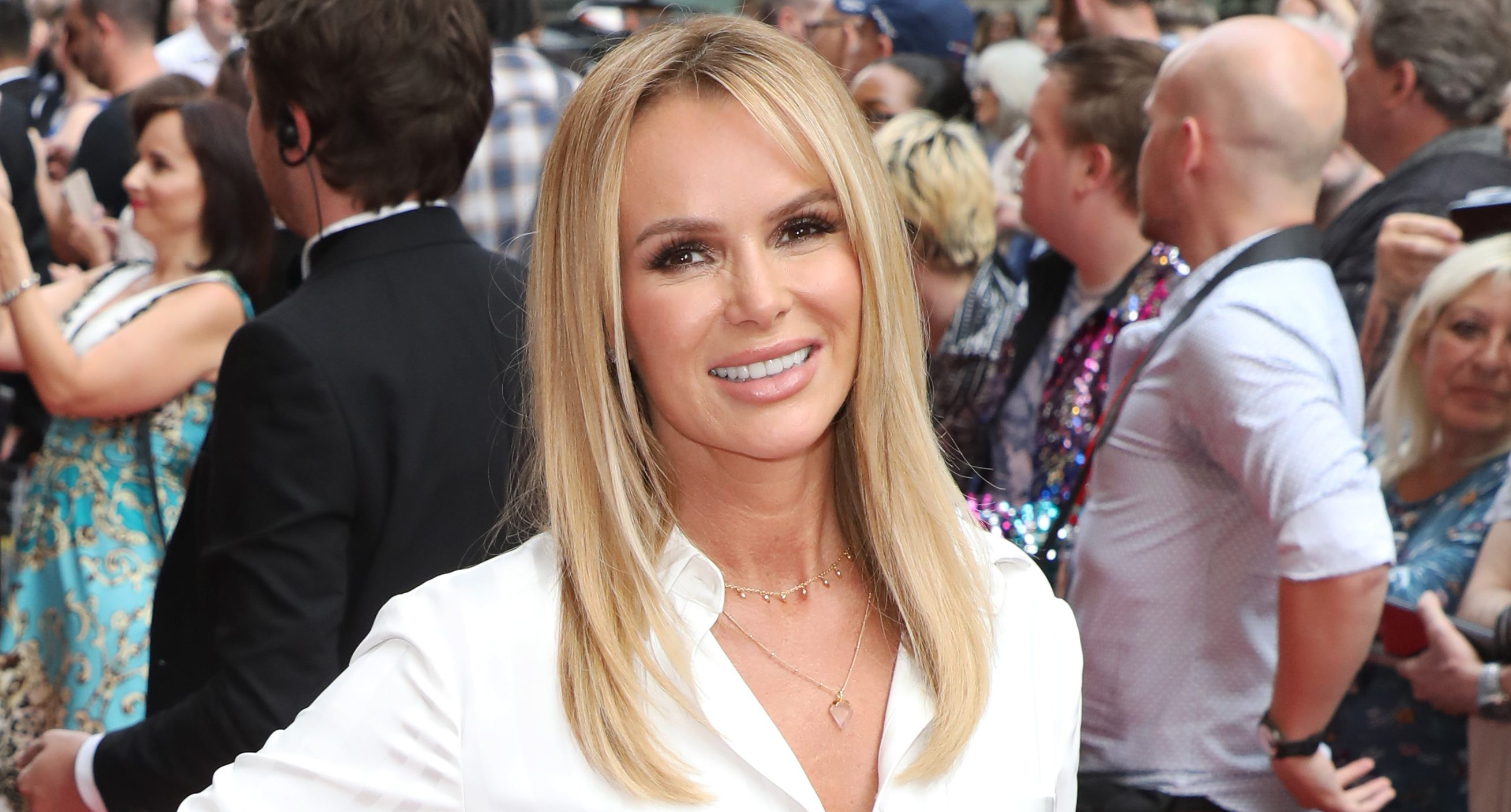 Amanda Holden's 'shapely, understated' behind beats Holly Willoughby to win Rear Of The Year