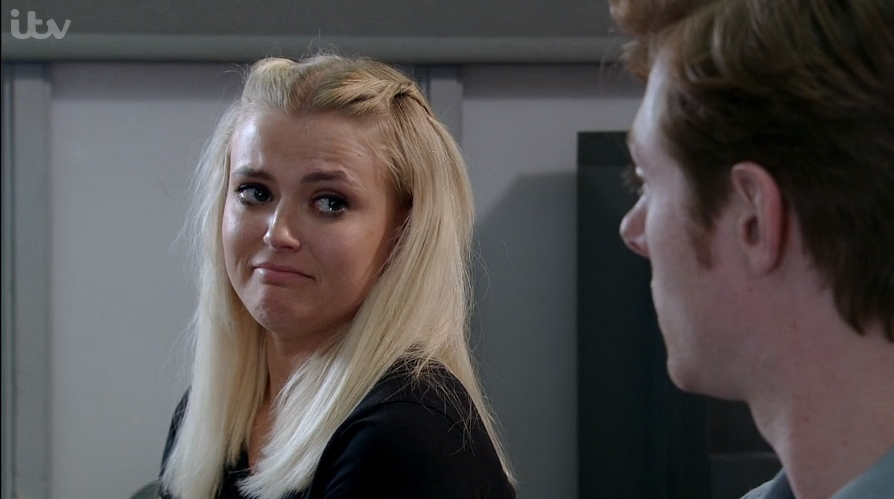 Coronation Street's Lucy Fallon apologises to disgusted fans for Bethany Platt's actions