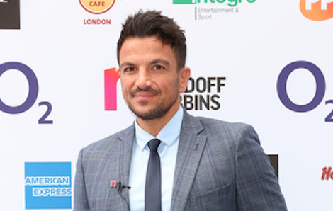 Peter Andre admits to shoving a sock down his pants