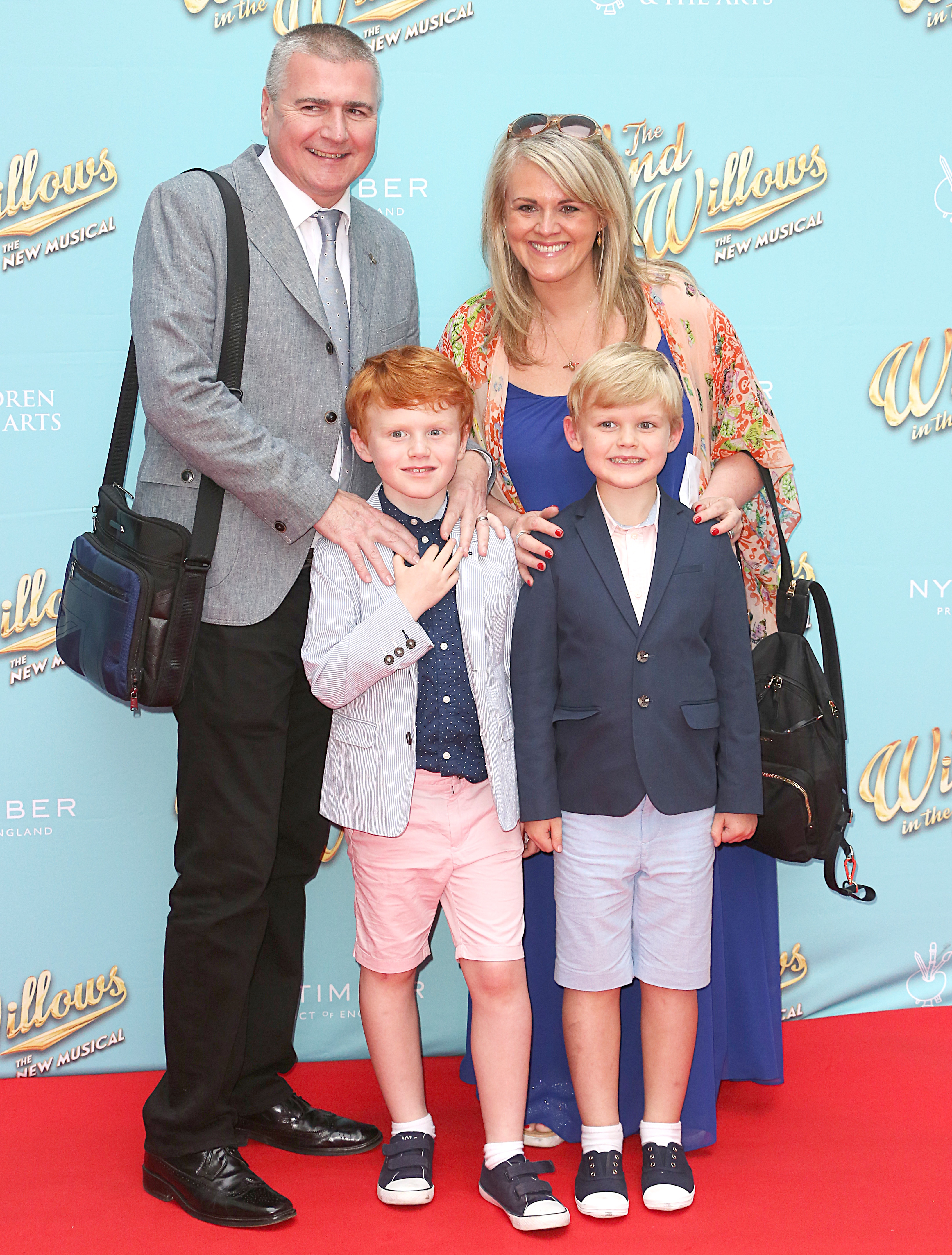 The Wind In The Willows: The New Musical - Gala Opening Night, London Palladium, London UK, 29 June 2017, Photo by Brett D. Cove Pictured: Sally Lindsay,Natalie Rushdie Neil Buchanan Nicola Stephenson Nitin Ganatra Noah Huntley Noelle Reno Richard Jones Rufus Hound Sally Lindsay Sam Attwater Sarah Ferguson Julian Fellowes Scroobius Pip Shane Ritchie Simon Weston Steph Parker Dom Parker Stephen Tompkinson Tracie Bennett Ref: SPL1530454 300617 NON-EXCLUSIVE Picture by: SplashNews.com Splash News and Pictures Los Angeles: 310-821-2666 New York: 212-619-2666 London: 0207 644 7656 Milan: +39 02 56567623 photodesk@splashnews.com World Rights