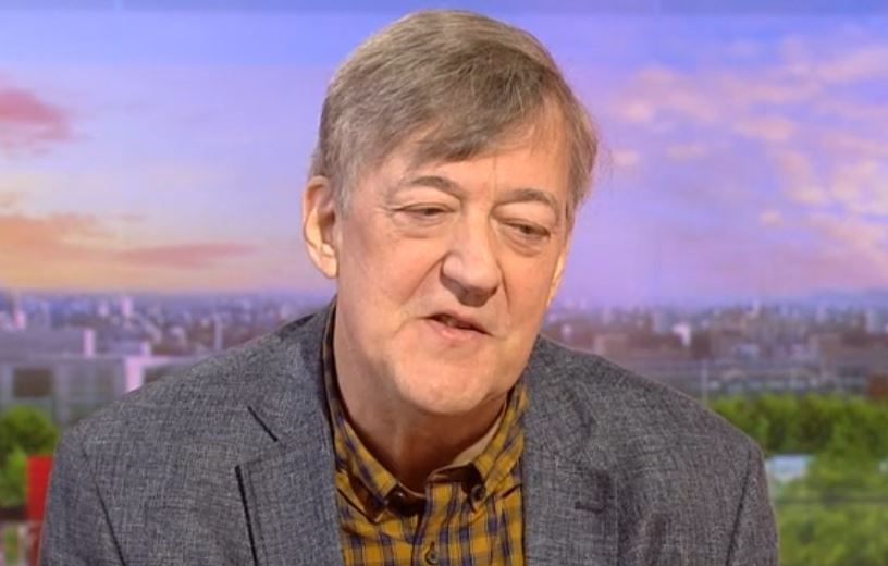 Stephen Fry reveals dramatic five-stone weight loss