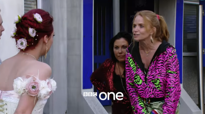 EastEnders Bianca Credit: BBC/YouTube