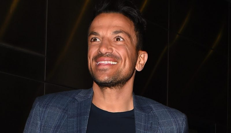 Peter Andre every inch the proud dad as daughter Amelia speaks Greek