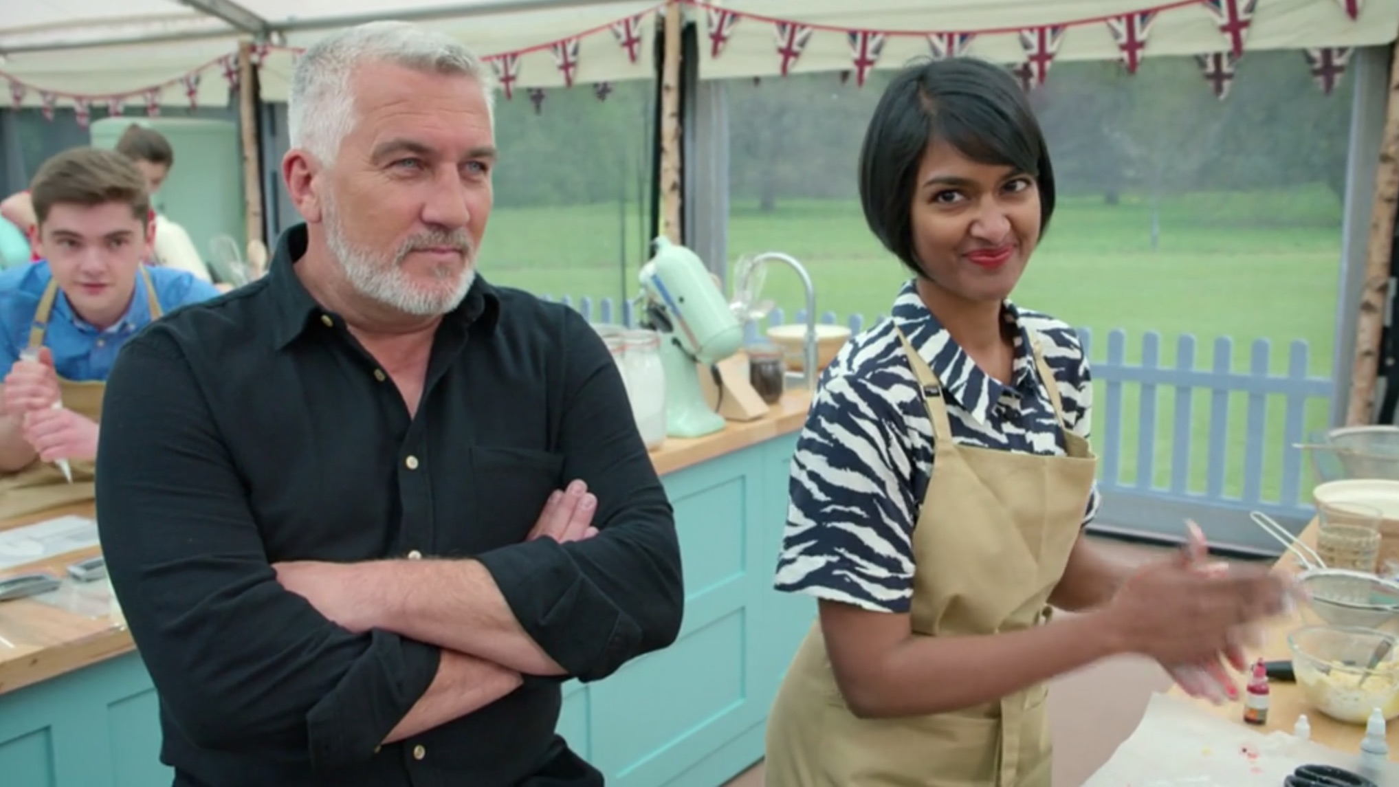 Great British Bake Off fans in stitches over Paul Hollywood's 'furry garden'