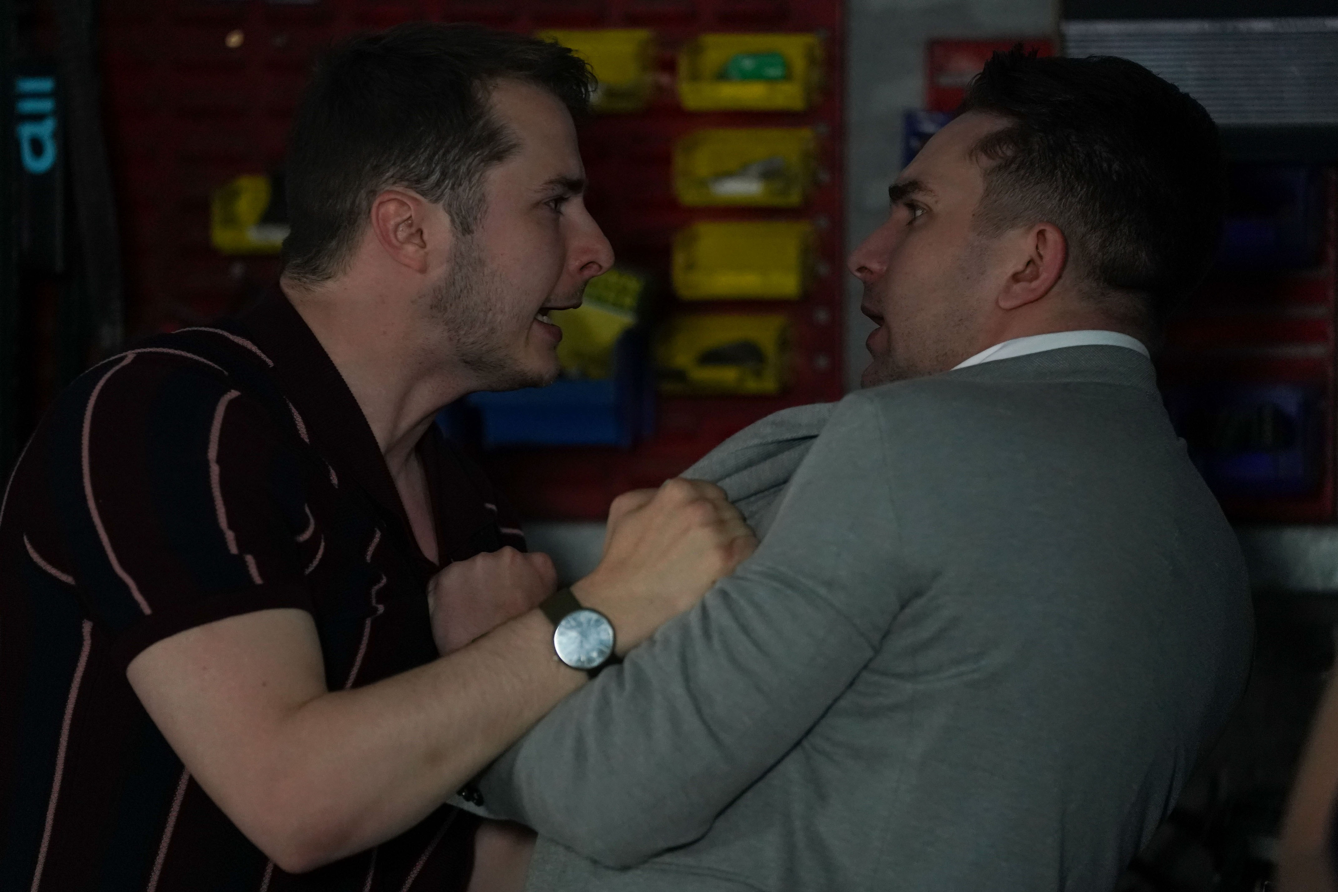 EastEnders SPOILER: Callum lashes out at Ben