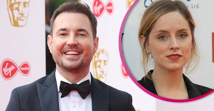 Martin Compston and Sophie Rundle