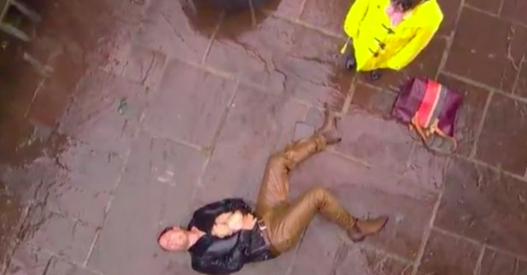 Tony Hutchinson murdered by Breda in Hollyoaks