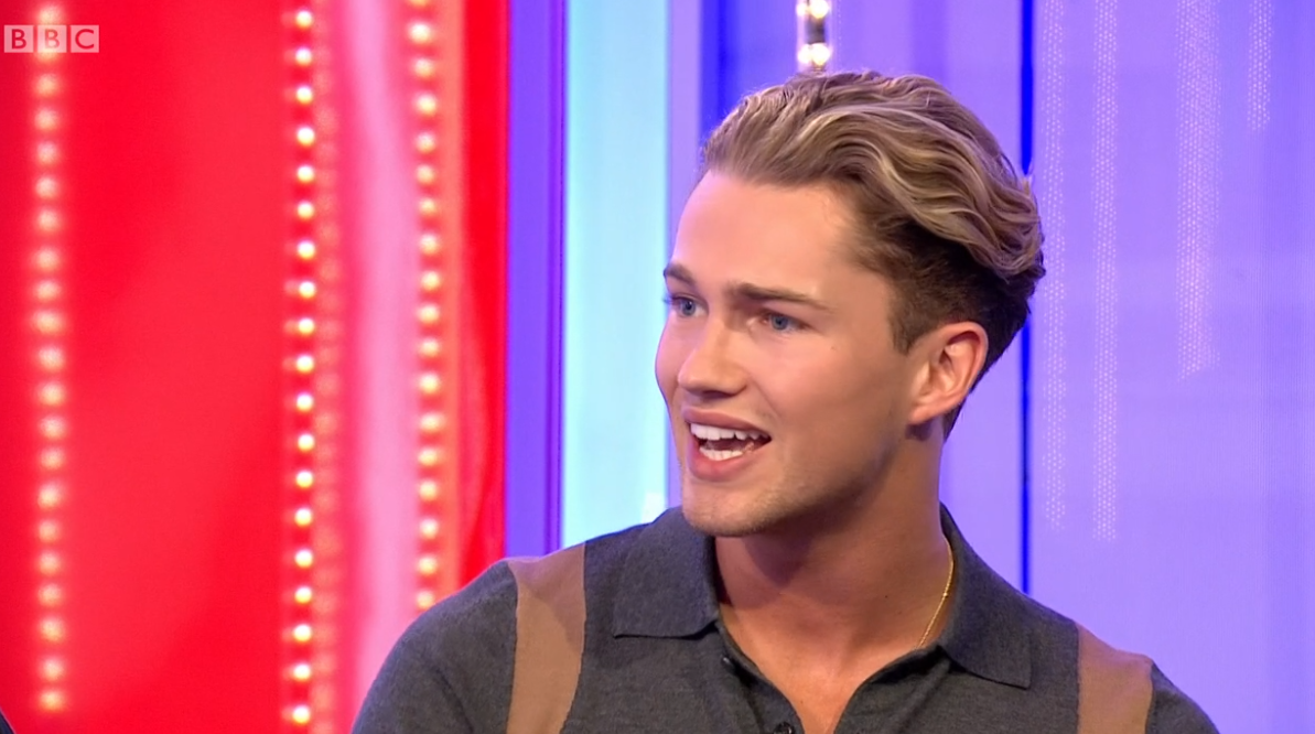 Strictly fans convinced AJ Pritchard 'let slip' his celebrity partner