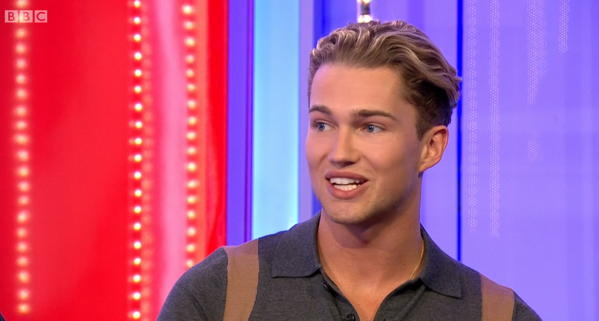 'Strictly' star AJ Pritchard 'accidentally reveals' he's partnered with Saffron Barker