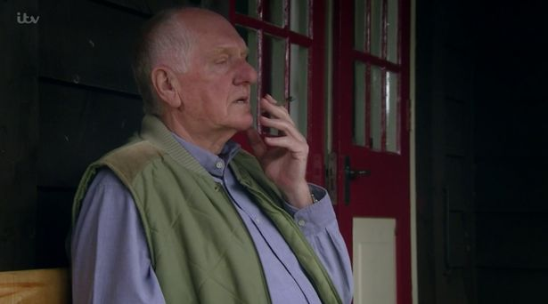 Emmerdale fans call out 'hilarious error' as Doug 'casually smokes weed in public'