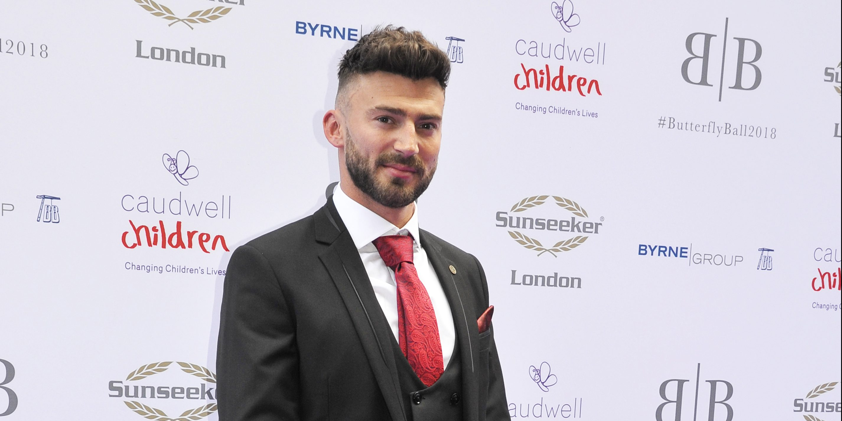 Jake Quickenden shares topless picture with co-star David Tag on the Hollyoaks set