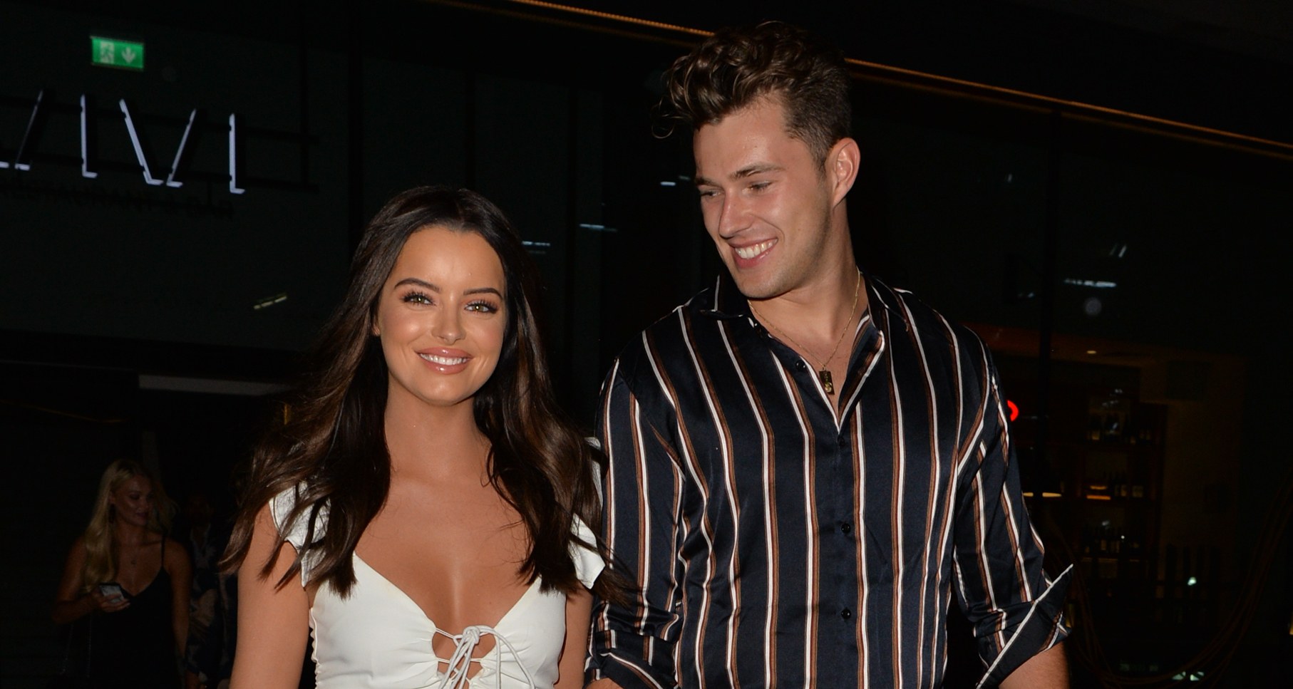 Love Island's Maura Higgins and Curtis Pritchard put split rumours behind them at Strictly launch
