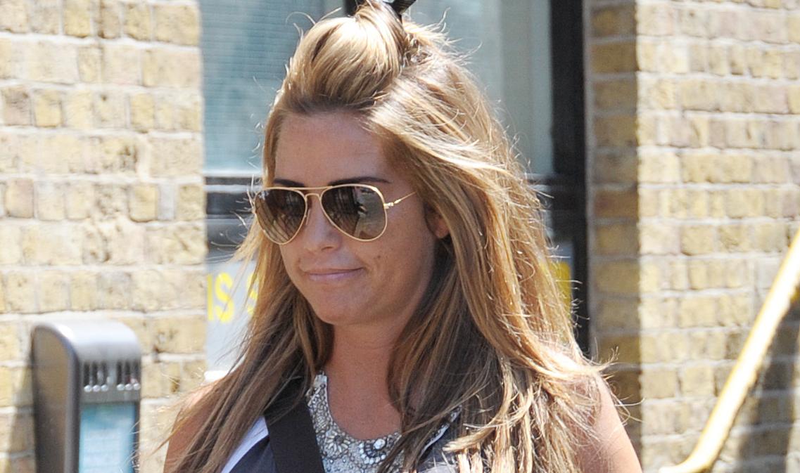 Katie Price denies sending ex Gareth Gates 'flirty' text messages