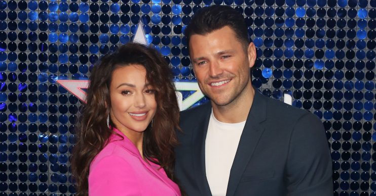 Celebrities attend The Global Awards 2019 at the Eventim Hammersmith Apollo in London Pictured: Michelle Keegan,Mark Wright Ref: SPL5070672 070319 NON-EXCLUSIVE Picture by: Brett D. Cove / SplashNews.com Splash News and Pictures Los Angeles: 310-821-2666 New York: 212-619-2666 London: 0207 644 7656 Milan: +39 02 56567623 photodesk@splashnews.com World Rights