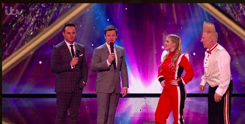 Britain's Got Talent fans thrilled as Dec mentions baby daughter