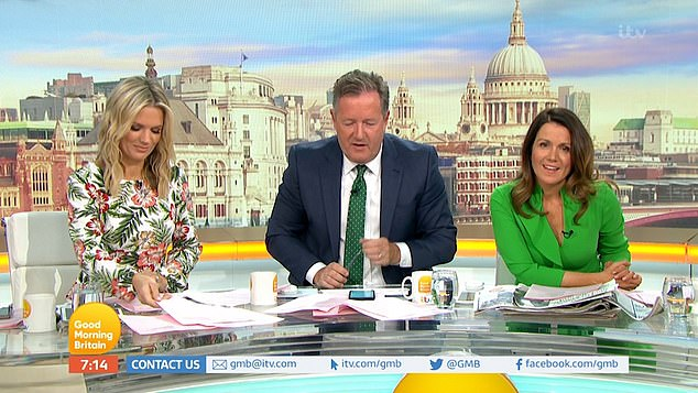 Piers Morgan delivers expletive-ridden rant aimed at Phil and Holly