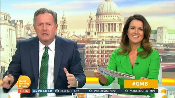 Screaming Piers Morgan red-faced as he mocks Konnie Huq's meltdown
