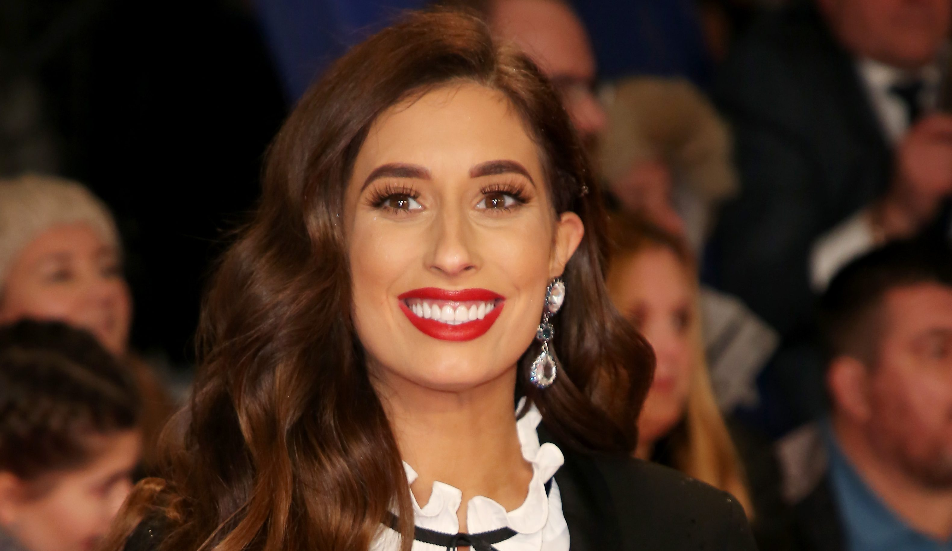 Stacey Solomon asks fans on social media for advice about baby Rex's eyes