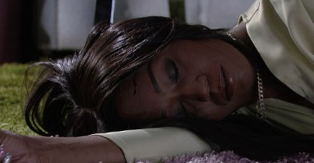 EastEnders fans horrified as Denise attacked and left unconscious by vengeful Hunter