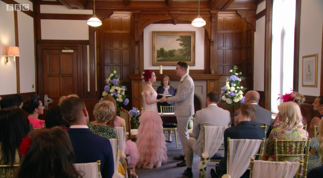 EastEnders viewers heartbroken as Whitney jilts Callum at the altar