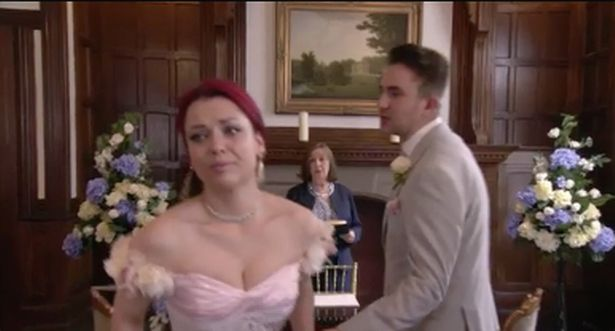 Whitney dumps Callum at the altar