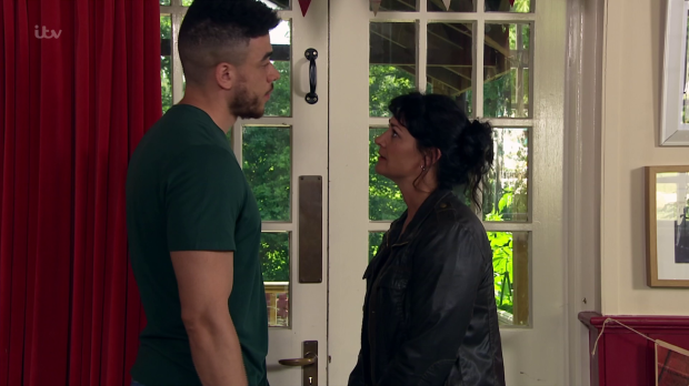 Emmerdale fans relieved as Moira dumps Nate - but is it really over?