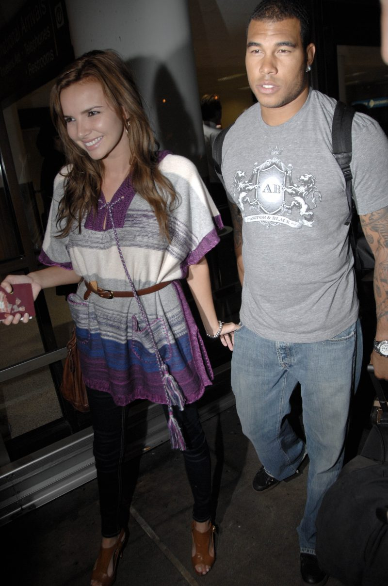 Nadine Coyle and Jason Bell