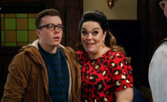 Emmerdale's Lisa Riley confirms Vinny is not Mandy Dingle's son