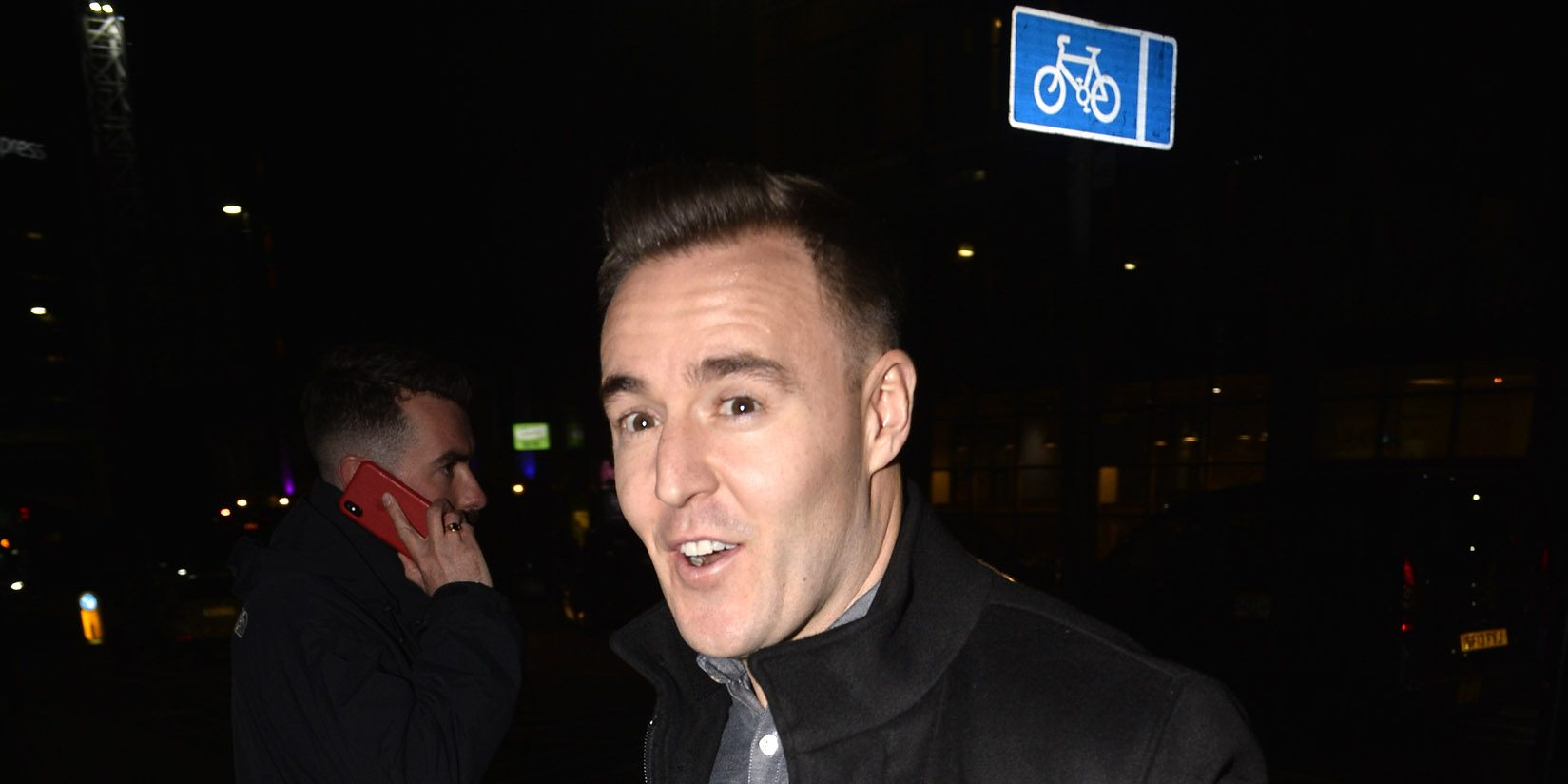 Coronation Street's Alan Halsall shares pictures with co-stars on day out