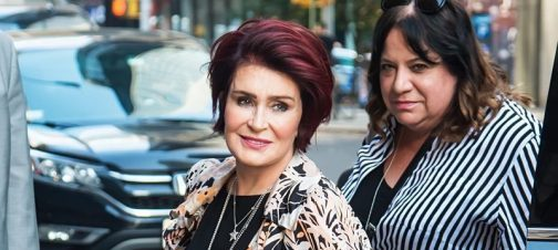 Sharon Osbourne days away from revealing new face after cosmetic surgery
