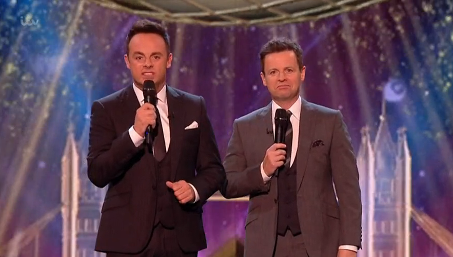 BGT: The Champions fans' dismay as Ant McPartlin accidentally causes Alexa mayhem